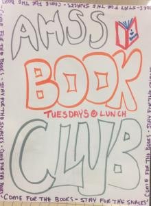 AHSS book club poster