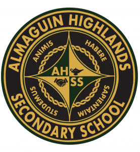 Almaguin Highlands secondary school logo