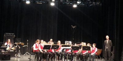 Students Performing at Music Fest