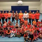 EW Norman staff and students celebrate Orange Shirt Day.