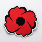 Sticker poppy