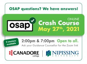 OSAP Crash Course Session