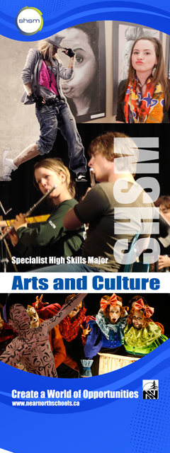 SHSM - Arts and Culture Banner