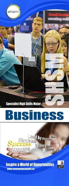 SHSM - Business Banner