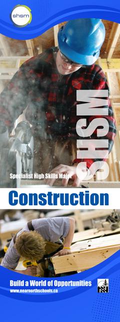 SHSM - Construction Banner