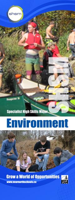 SHSM Environment Banner