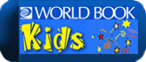 Kids World Book Button