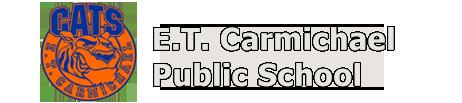 E.T. Carmichael school logo