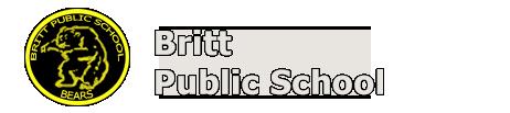 Britt school logo