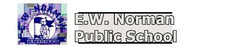 E.W Norman school logo