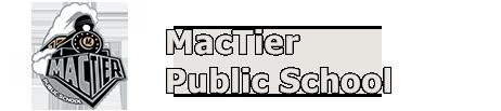 Mactier school logo