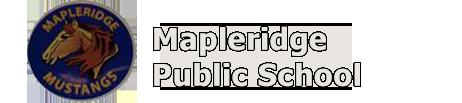 Mapleridge school logo