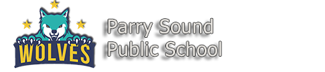Parry Sound public school logo