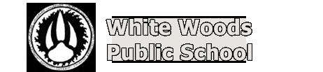 White Woods school logo