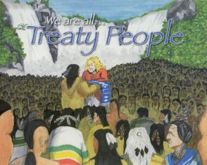 "Cover of the book ""We are all Treaty People"""