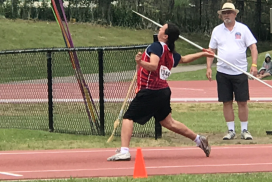 NSS Student Wins Javelin Title at OFSAA