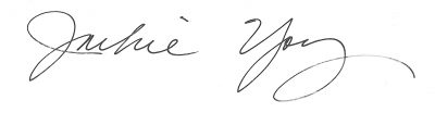 Jackie Young Signature