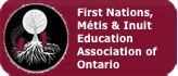 First Nations, Metis, Inuit Education Association of Ontario Button
