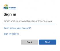 NNDSB sign in