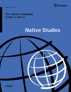 Native Studies Grade 11-12