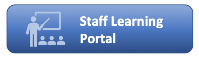 Staff learning portal button