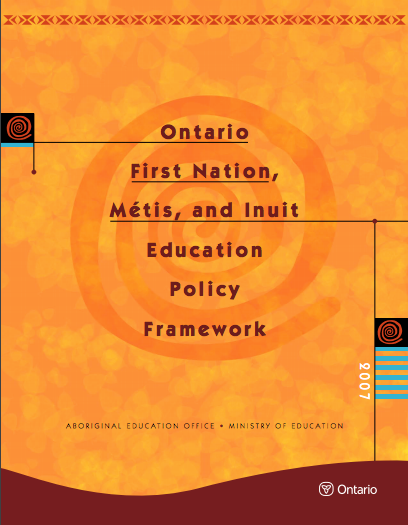 Ontario First Nation, Metis, and Inuit Education Policy Framework