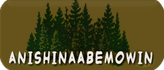 Anishinaabemowin Button