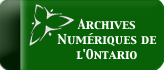 Archives Numerique de l'Ontario Button