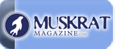Muskrat Magazine Button