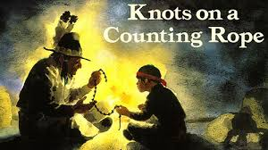 Knots on a Counting Rope Book Button