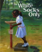 White Socks Only Book Button