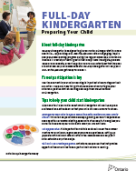 Full Day Kindergarten - preparing your child thumbnail