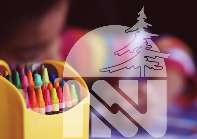 NNDSB Logo on Crayons