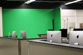 Photo of media room at West Ferris Secondary School