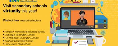 Virtual secondary school visit