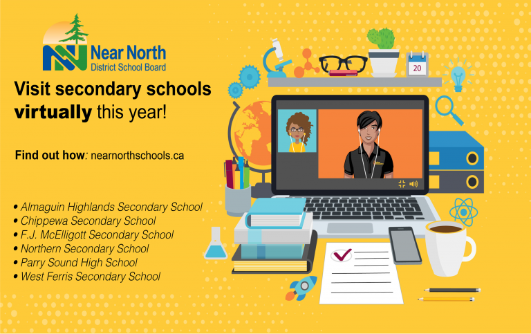Virtual secondary school visit