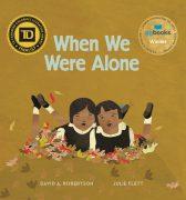 When We Were Alone Book button