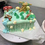 Dakota Walker showcases their cake decorating skills.