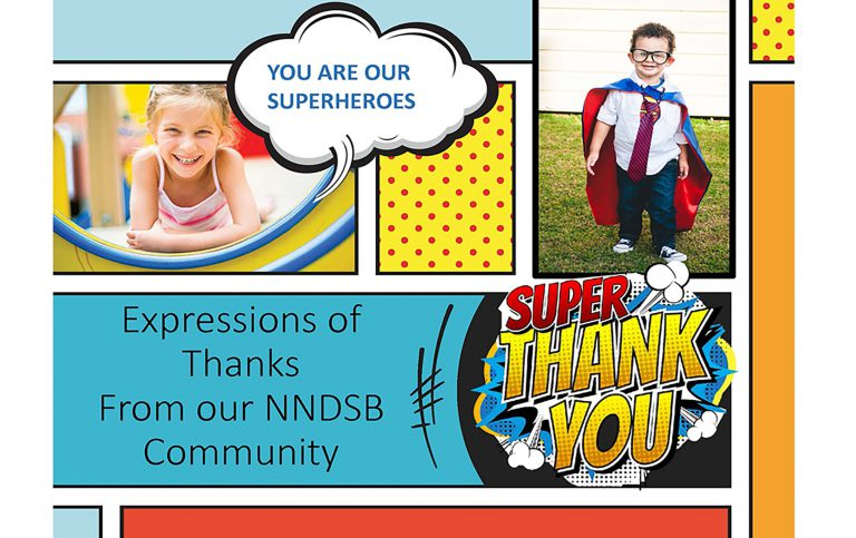 Thank you presentation from NNDSB