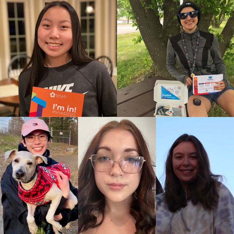 Five NNDSB students going to Shad.