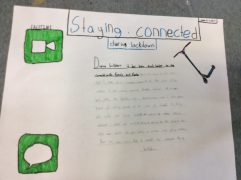 Vincent Massey PS students write about staying connected during COVID