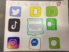 Vincent Massey PS students write about staying connected during COVID 6