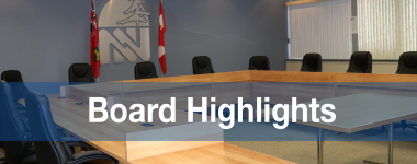 Board highlights from monthly meeting
