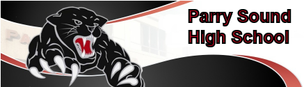 Parry Sound intermediate and secondary school logo