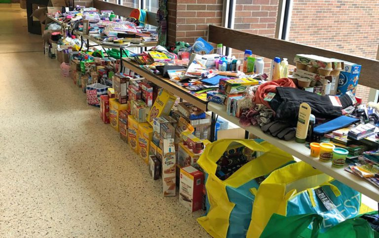Items being donated to Nunavut students